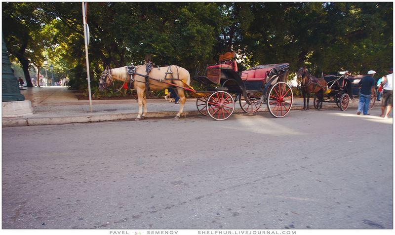 Путешествия продлевают жизнь - Куба. Значит  гавана из окна автомобиля. Возможно,  часть 4