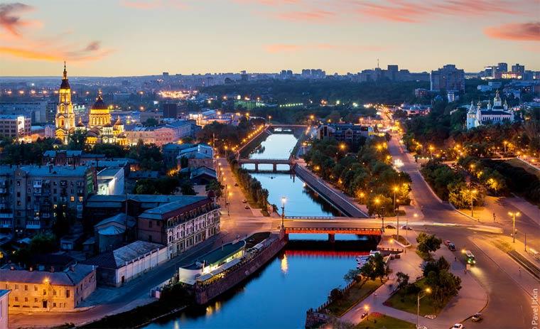 Самые красивые города Украины — Топ 10