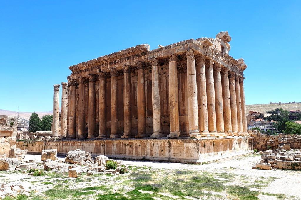 Баальбек в Ливане - циклопический храмовый комплекс Древнего мира