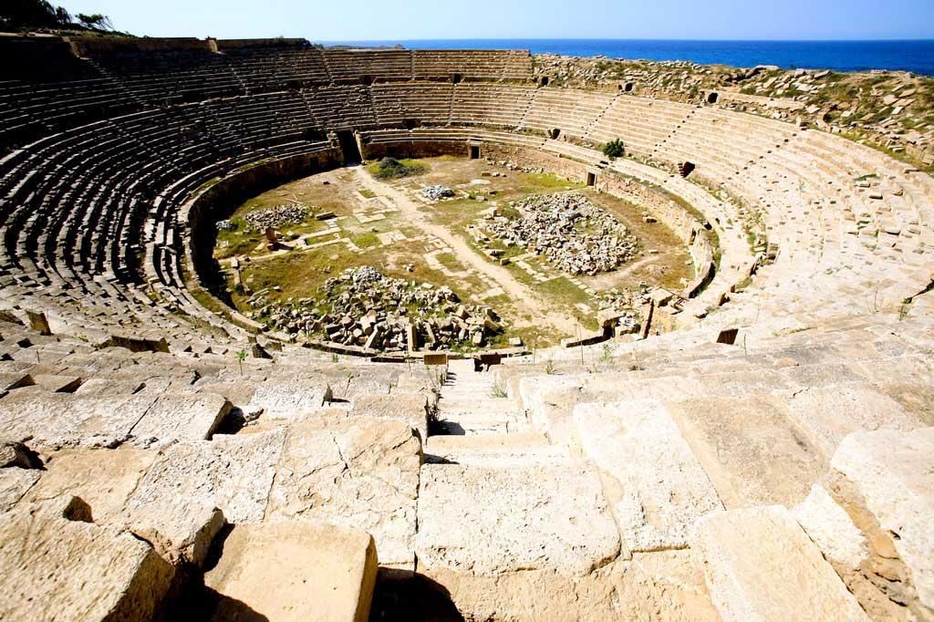 Лептис-Магна — «Рим» в Африке