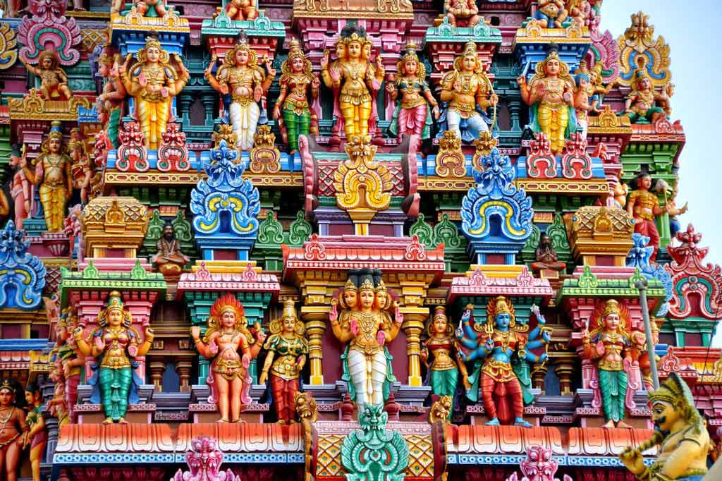 Храм Минакши — каменная энциклопедия индуизма