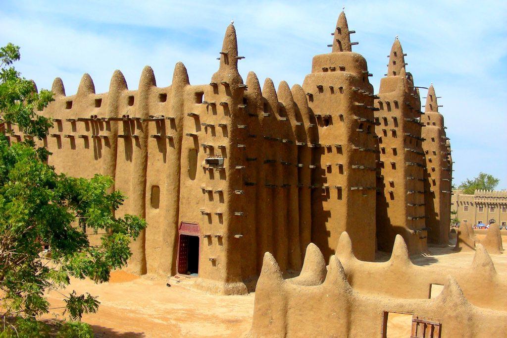 Мечеть Дженне — великий глиняный памятник Мали