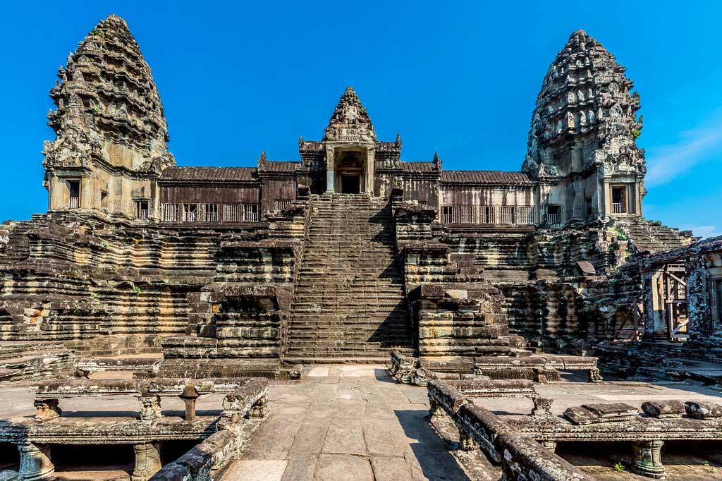 Ангкор-Ват - триумф кхмерского зодчества